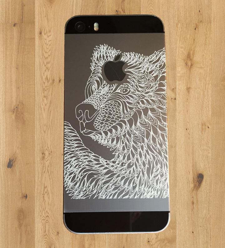 Гравировка iphone_5s